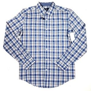 George Classic Fit Plaid Button Down Shirt